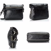 Relic by Fossil Women's Cross Body Messenger Bag Black Expandable Purse