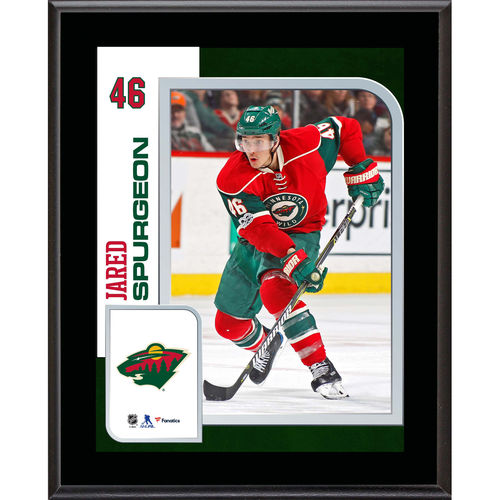 "Jared Spurgeon Minnesota Wild 10.5"" x 13"" Sublimated Player Plaque - No Size"