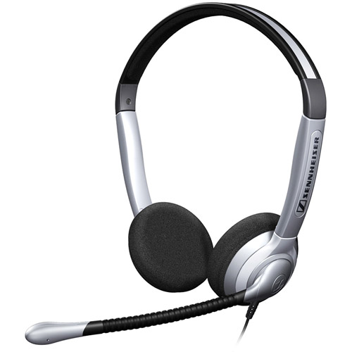 Sennheiser SH 350 Binaural Headset with Noise Canceling Microphone