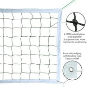 Replacement Volleyball Net Volleyball Competition Training Net for Indoor Outdoor Sports Beach