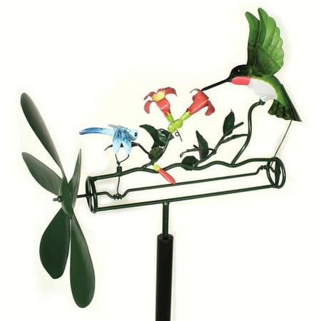 Dragonfly Whirligig - Winston Porter Deepwater Hummingbird and Dragonfly Whirligig Spinner