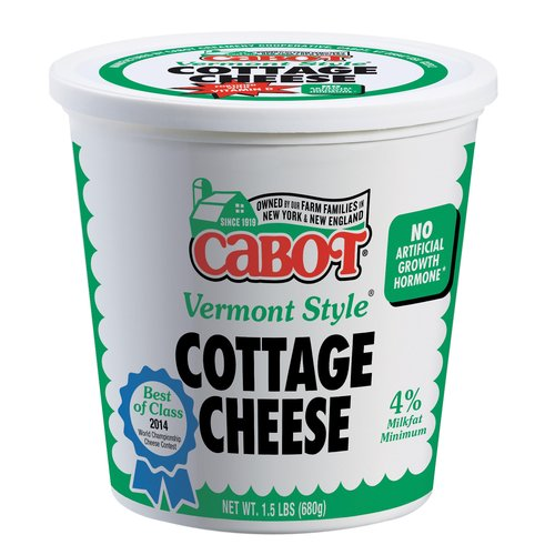 Cabot Vermont Style Cottage Cheese, 1.5 lbs