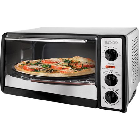 Euro Pro Convection Toaster Oven Black And Silver