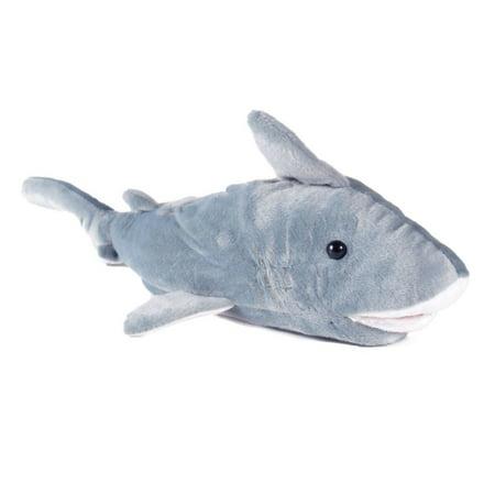 Happy Feet Mens and Womens Shark Animal Slippers