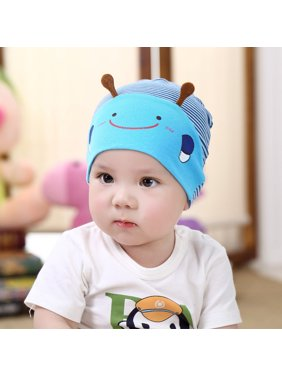 Outtop Cute Kid Baby Boy Girl Toddler Infant Hat Bee Baseball Beret Cap Blue