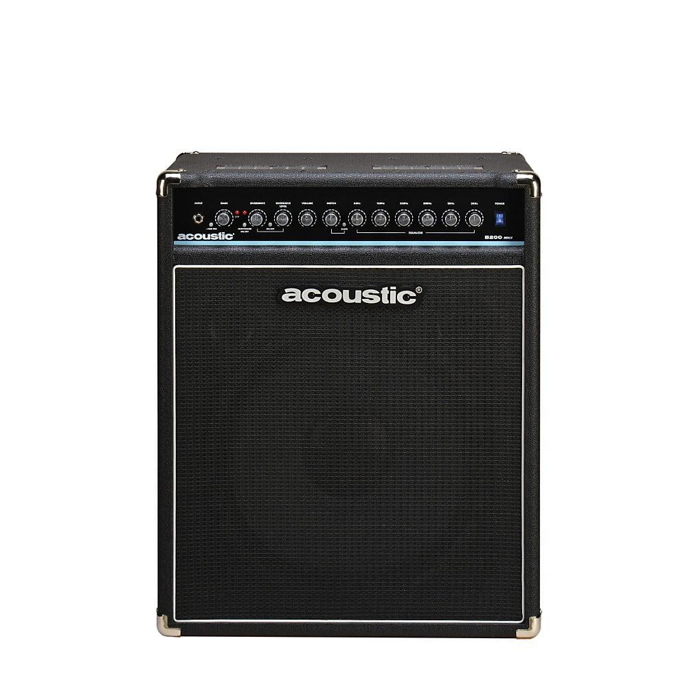 Acoustic B200mkII 200W Bass Combo Amp Black