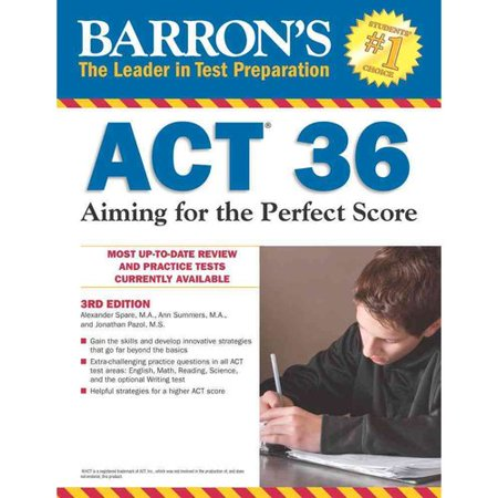 Barrons Act 36: Aiming for the Perfect Score by