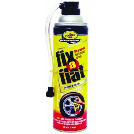 Fix A Flat Tire Aerosol 16 Oz Walmart