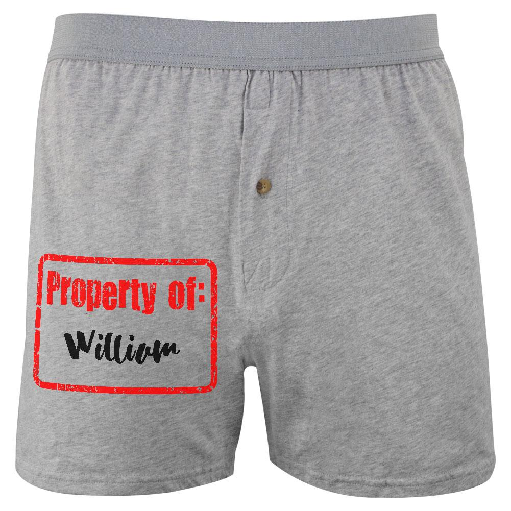 Property of William Soft Knit Boxer
