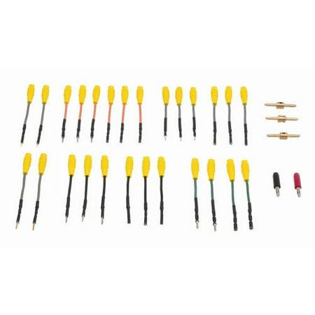 Waekon Industries 77203 31 Piece Perfect Mate Round Terminal Probe Adapter Set