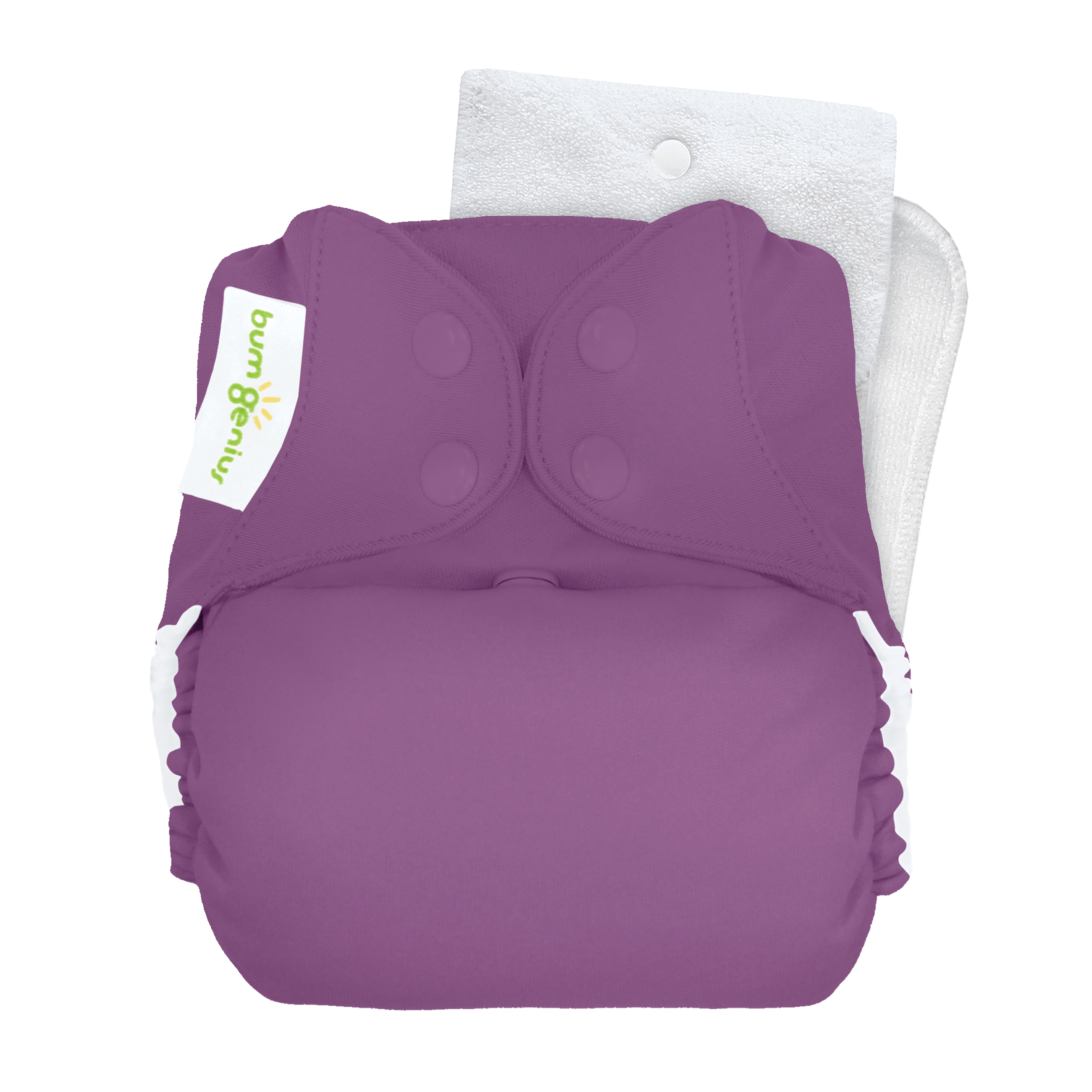 bumGenius Original One-Size Cloth Diaper 5.0 - Jelly (fits babies 8-35 lbs)