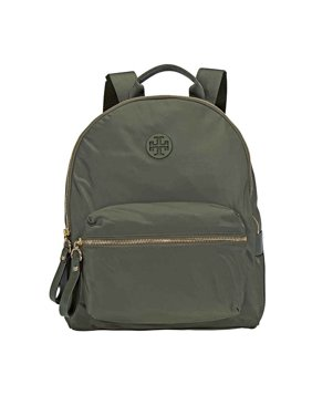 398fe9ac390 Product Image Tory Burch Tilda Nylon ZIp Backpack- Olive