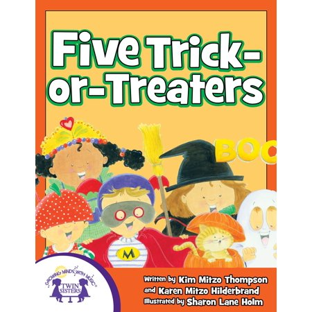 Five Trick-Or-Treaters - eBook (Karen Halloween)
