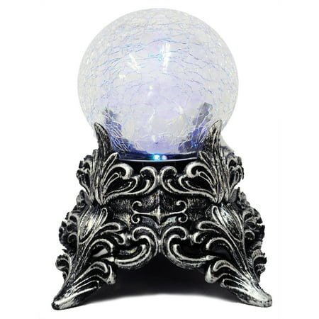 Crystal Ball Mystic Halloween Decoration - Homemade Halloween Decorations With Construction Paper
