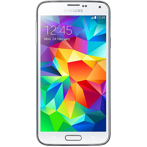 Samsung Galaxy S5 G900F Android Smartphone (Unlocked), White