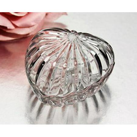 Crystal Heart Box Sml