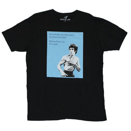 Bruce Lee  Mens T-Shirt - Ever Wonder Why There Aren't Bruce Lee