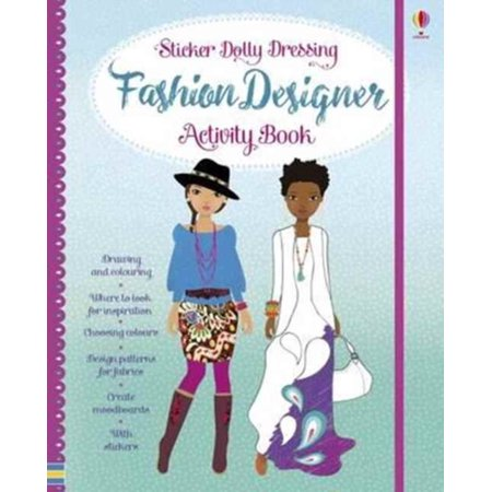 FASHION DESIGNER ACTIVITY BOOK](Kids Fashion Magazines)