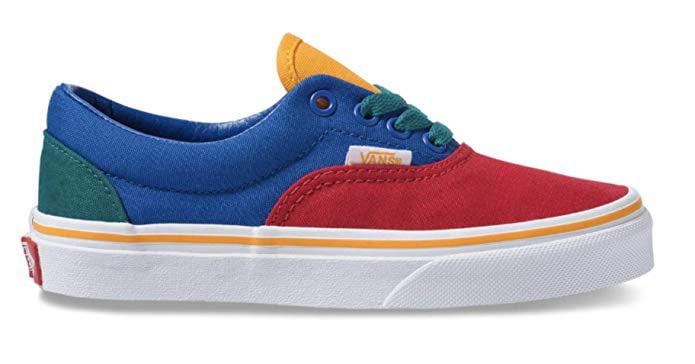 Vans Kids Primary Block Era Skate Shoes