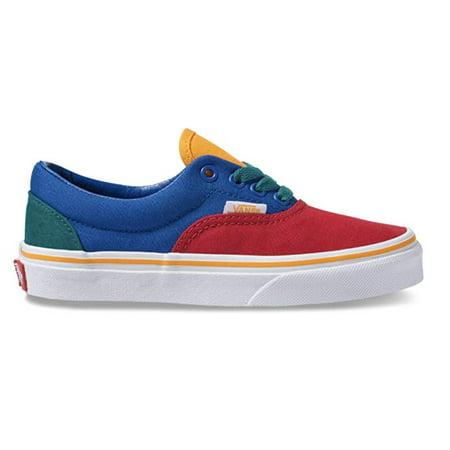 Vans Kids Primary Block Era Skate - Kids Vans Shoes