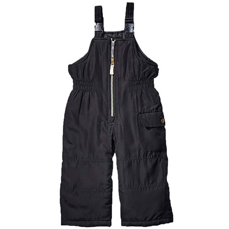Carter's Toddler Girls Snow Bib Pants Warm Winter Overall Ski Pants Black Size 3T ()