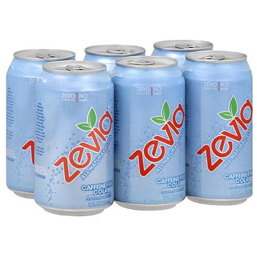 Zevia Caffeine Free Cola, 72FO (Pack of 4)