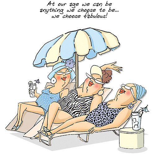 "Art Impressions People Cling Rubber Stamp, 6"" x 4"", Loungers Set"