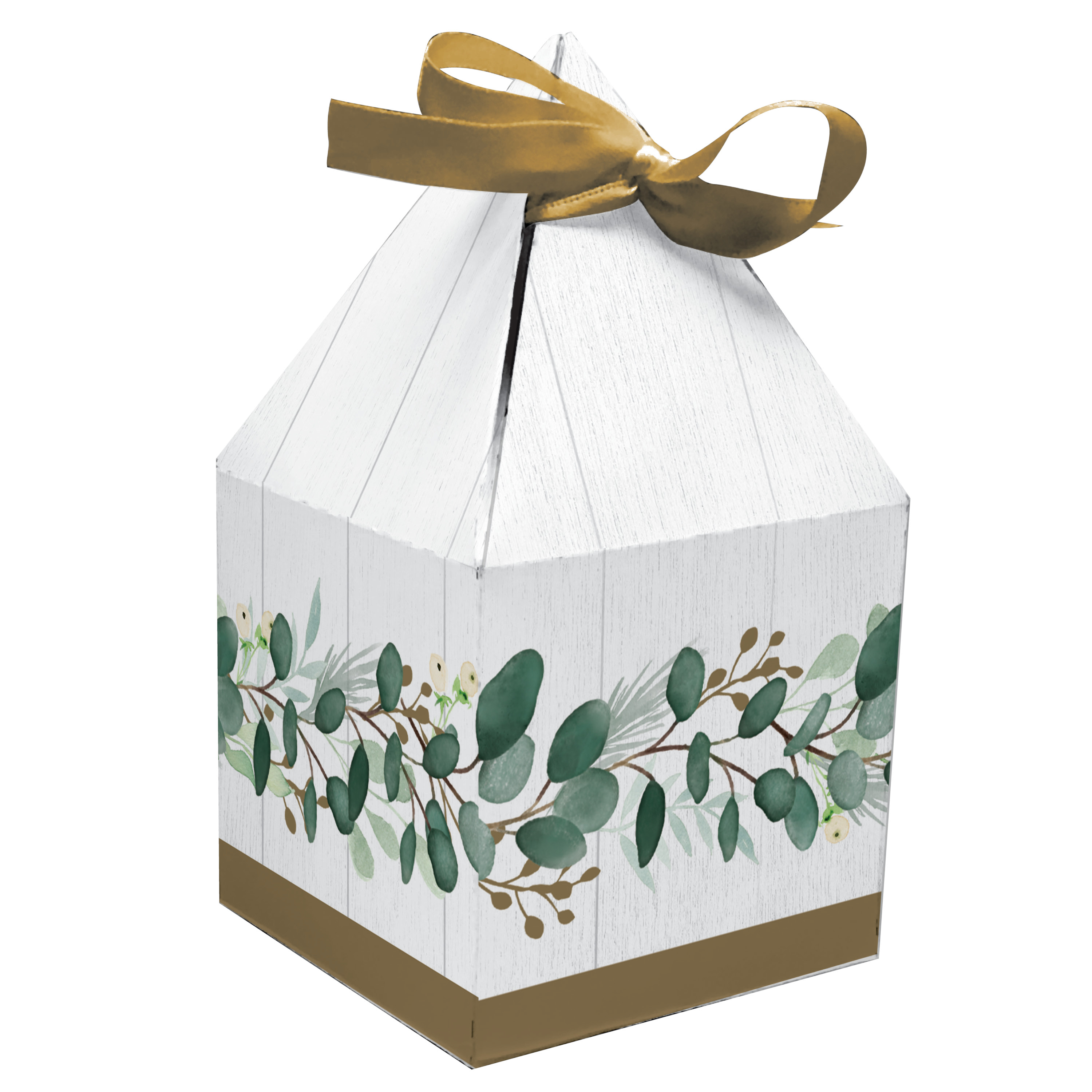 Eucalyptus Favor Boxes 24 Count For 24 Guests Walmart Com Walmart Com