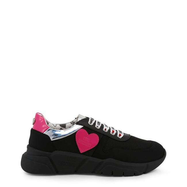 Love Moschino Women/'s Trainers JA15123G18IF Black