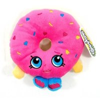 "Plush - Shopkins - D'lish Donut 6.5"" Soft Doll Toys New 149969"