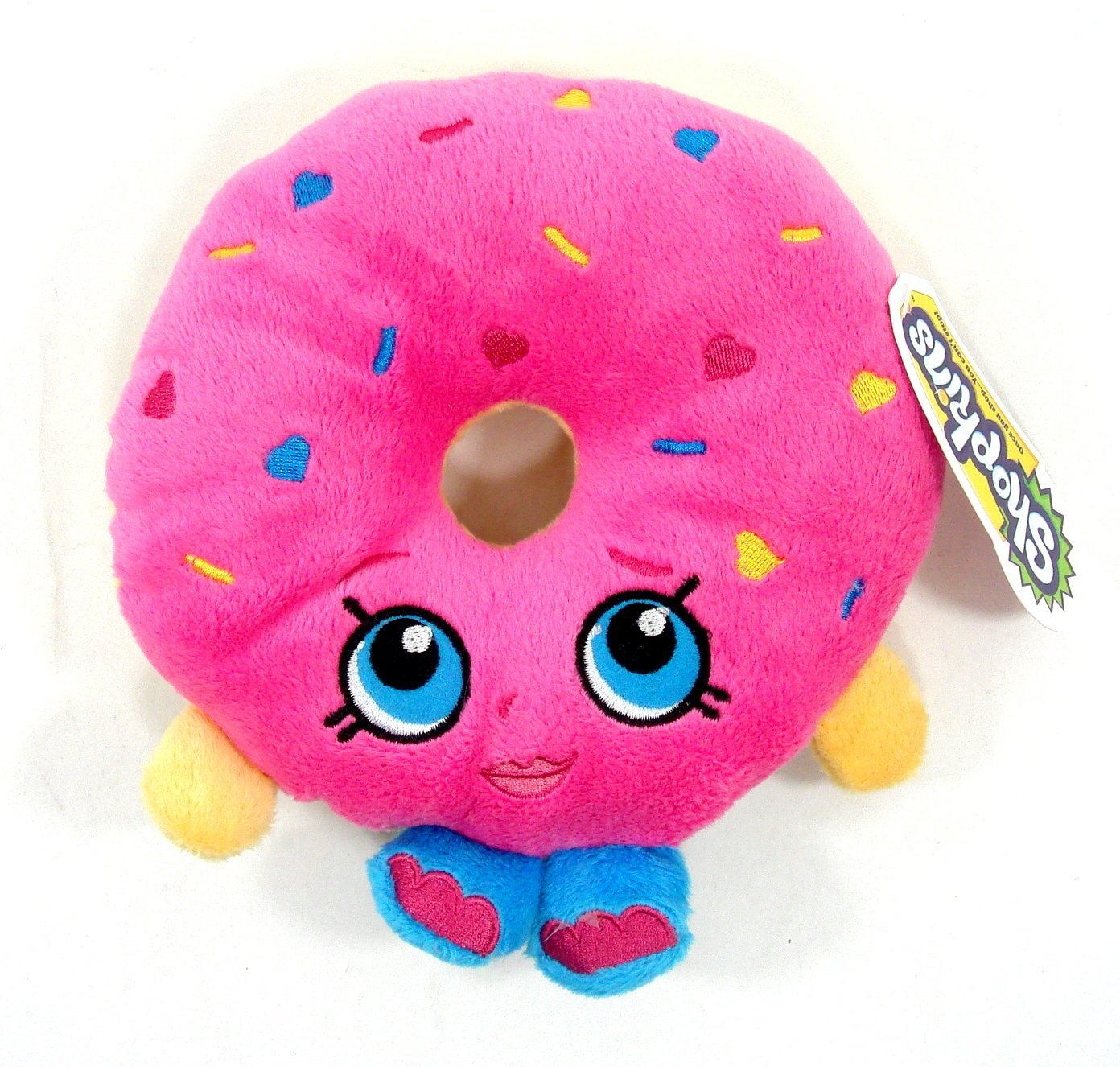 "Plush - Shopkins - D'lish Donut 6.5"" Soft Doll Toys New 149969"