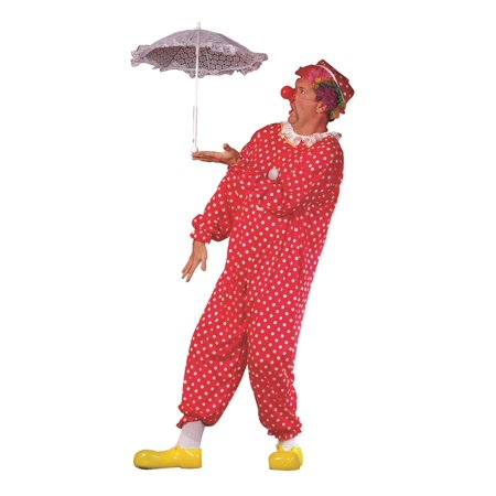 Polka Dots Clown Costume Plus Size