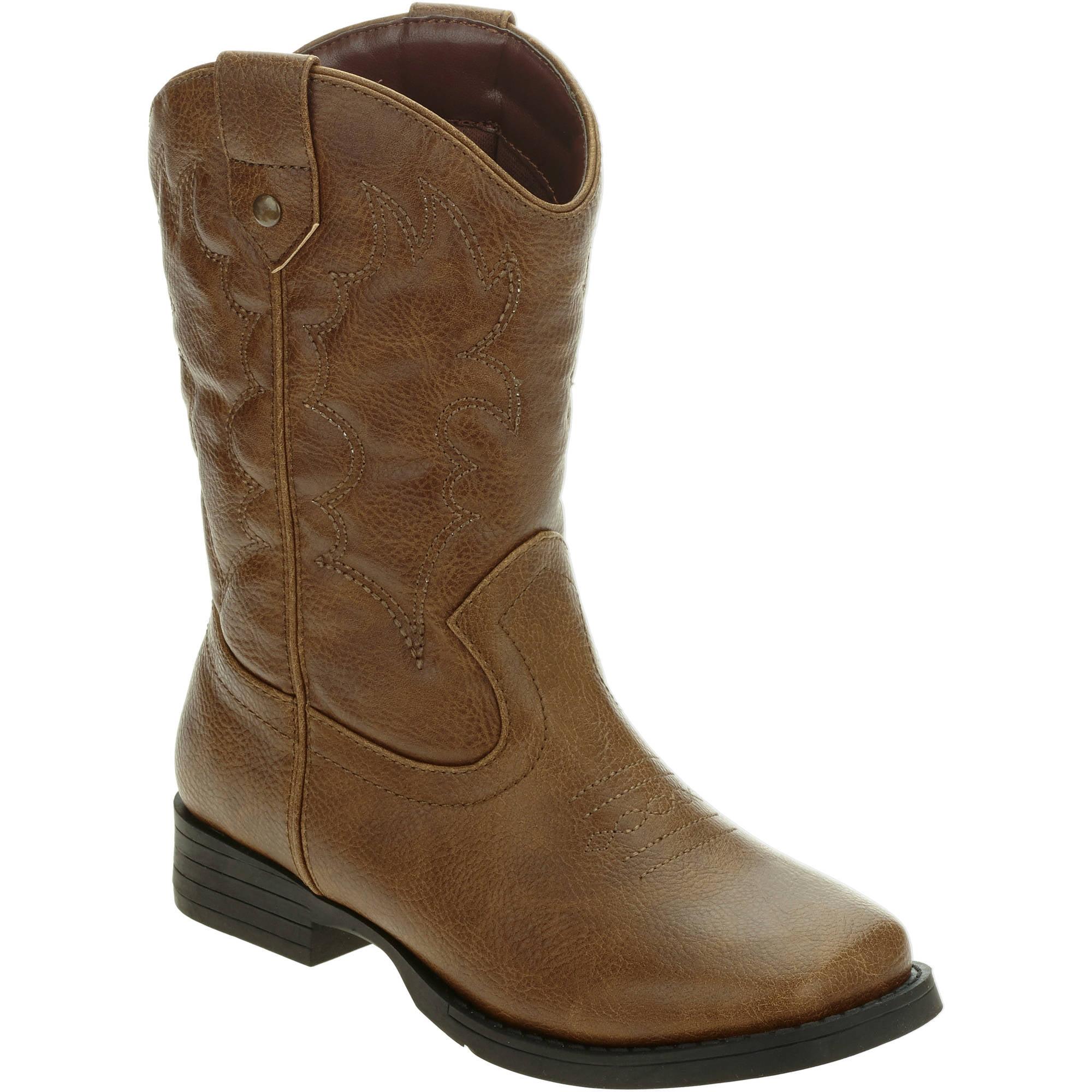 Faded Glory Boys' Western Cowboy Boot by