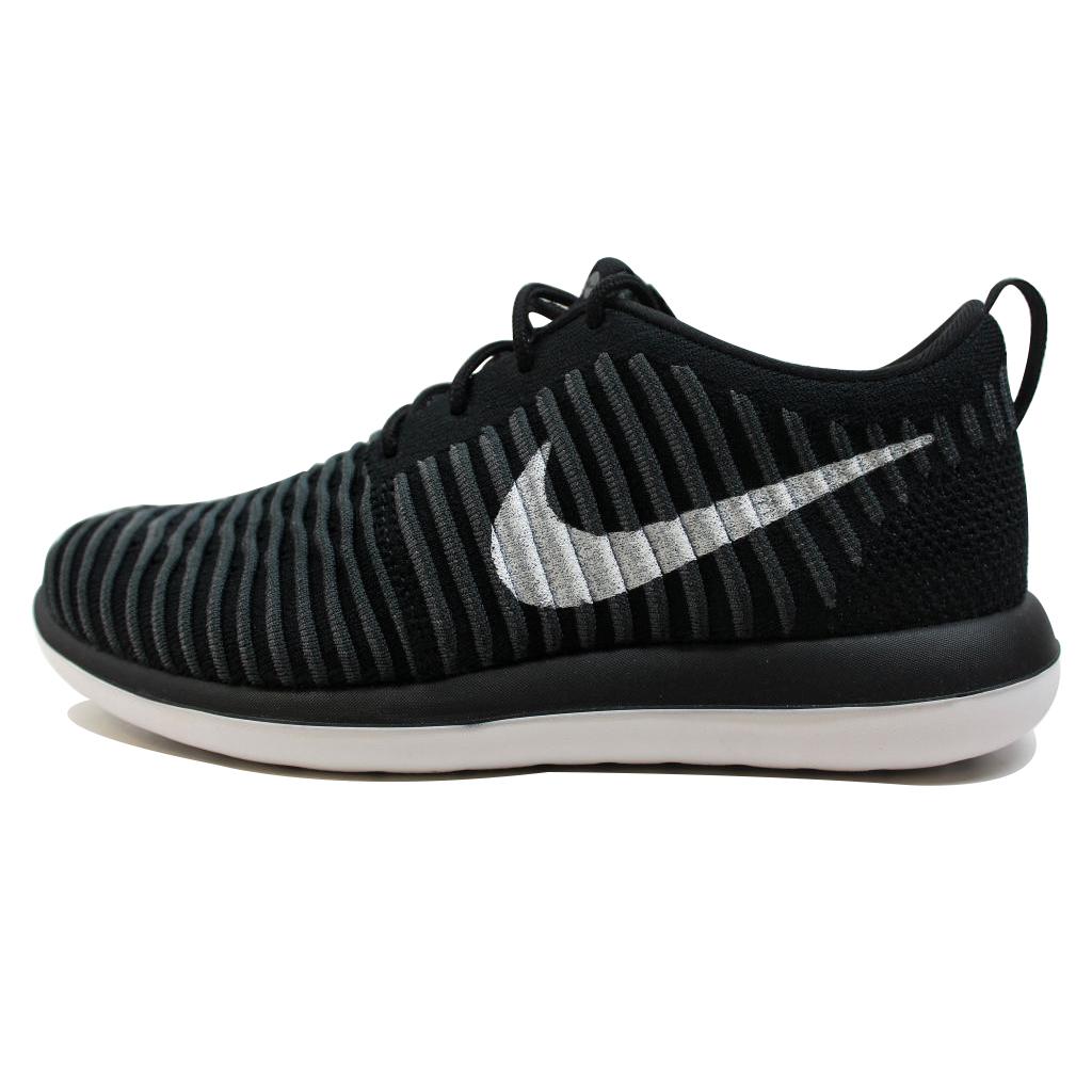 Nike Grade-School Roshe Two 2 Flyknit Black/White-Anthracite-Dark Grey 844619-001