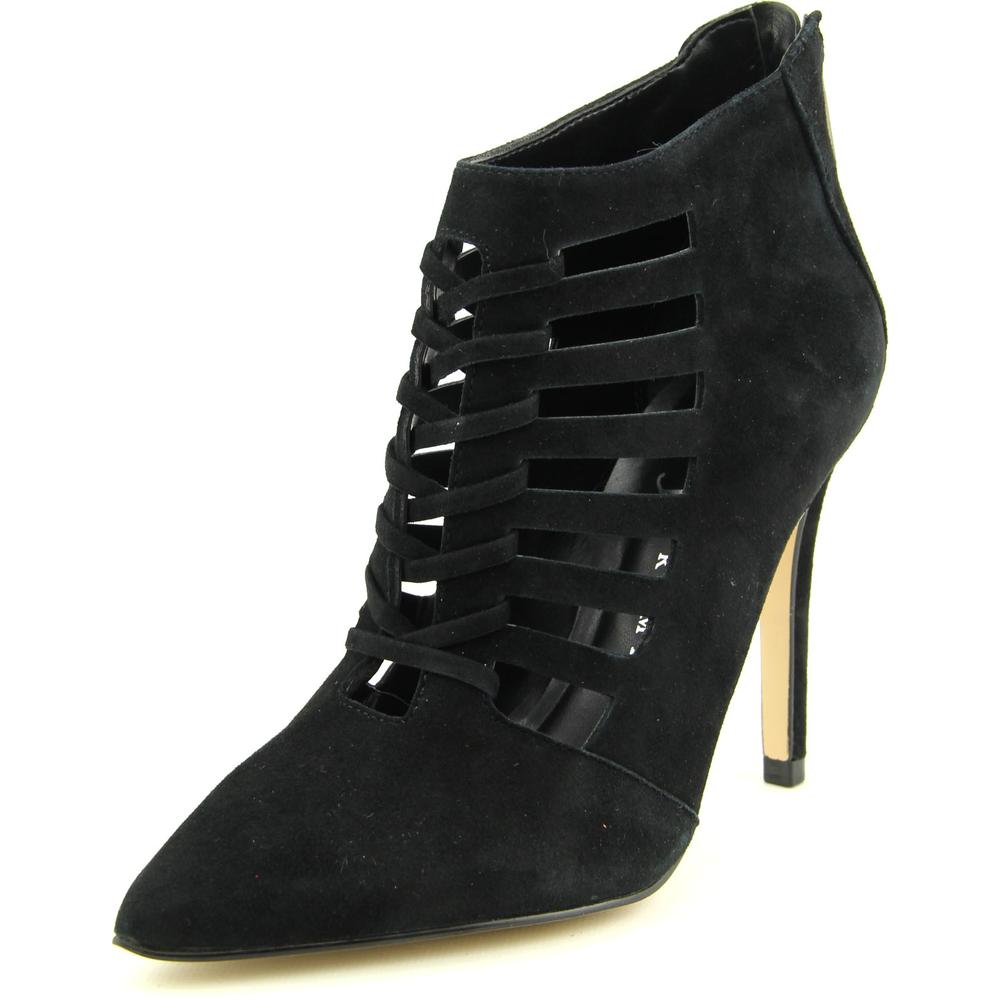 Ivanka Trump Sweet   Pointed Toe Suede  Ankle Boot