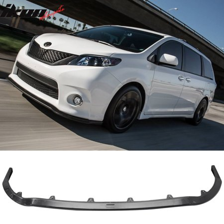 Compatible with 11-17 Toyota Sienna SE MP Style Front Bumper Lip Spoiler - ABS