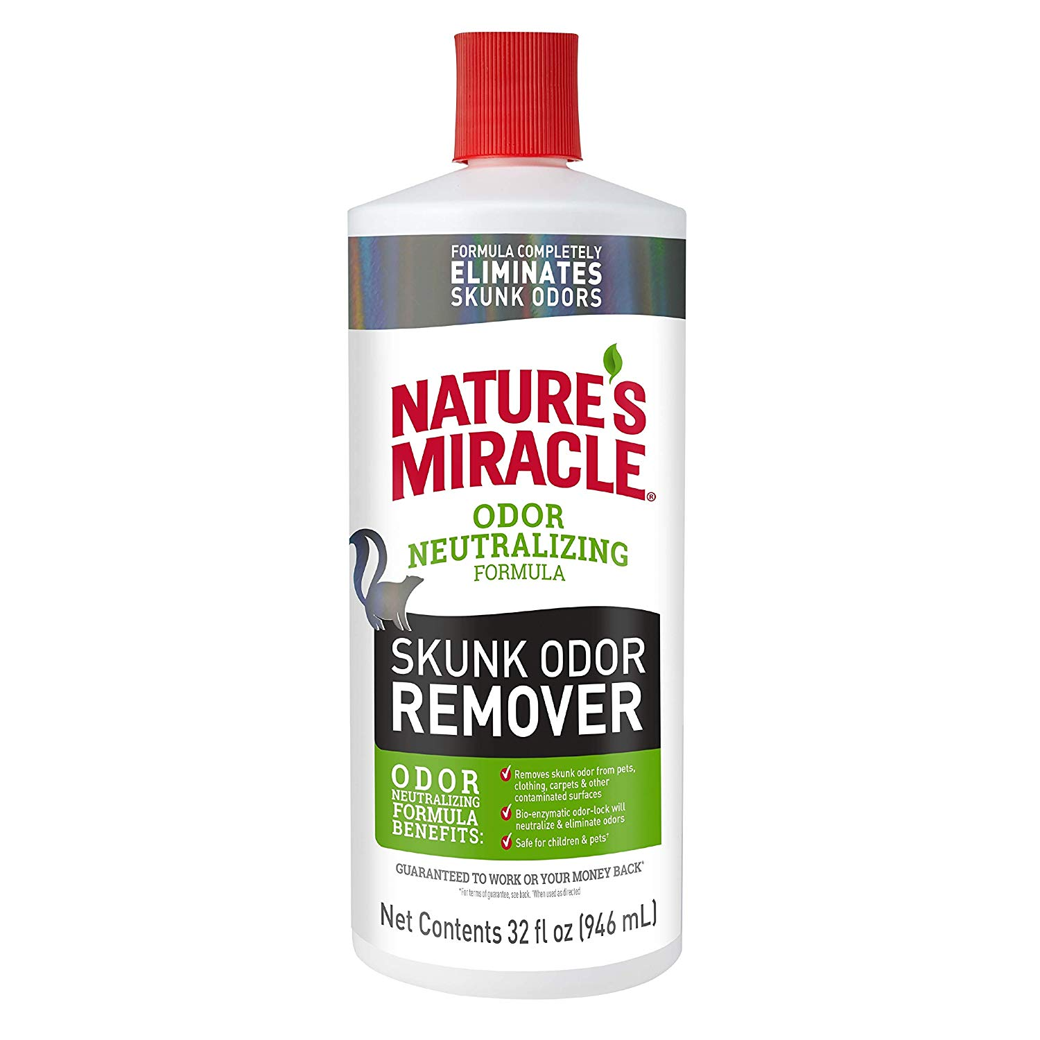 Nature's Miracle Skunk Odor Remover, 32 oz pour
