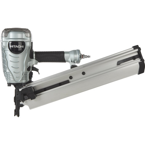 "Hitachi 3 1/2"" Full-Head Plastic Collated Framing Strip Nailer"