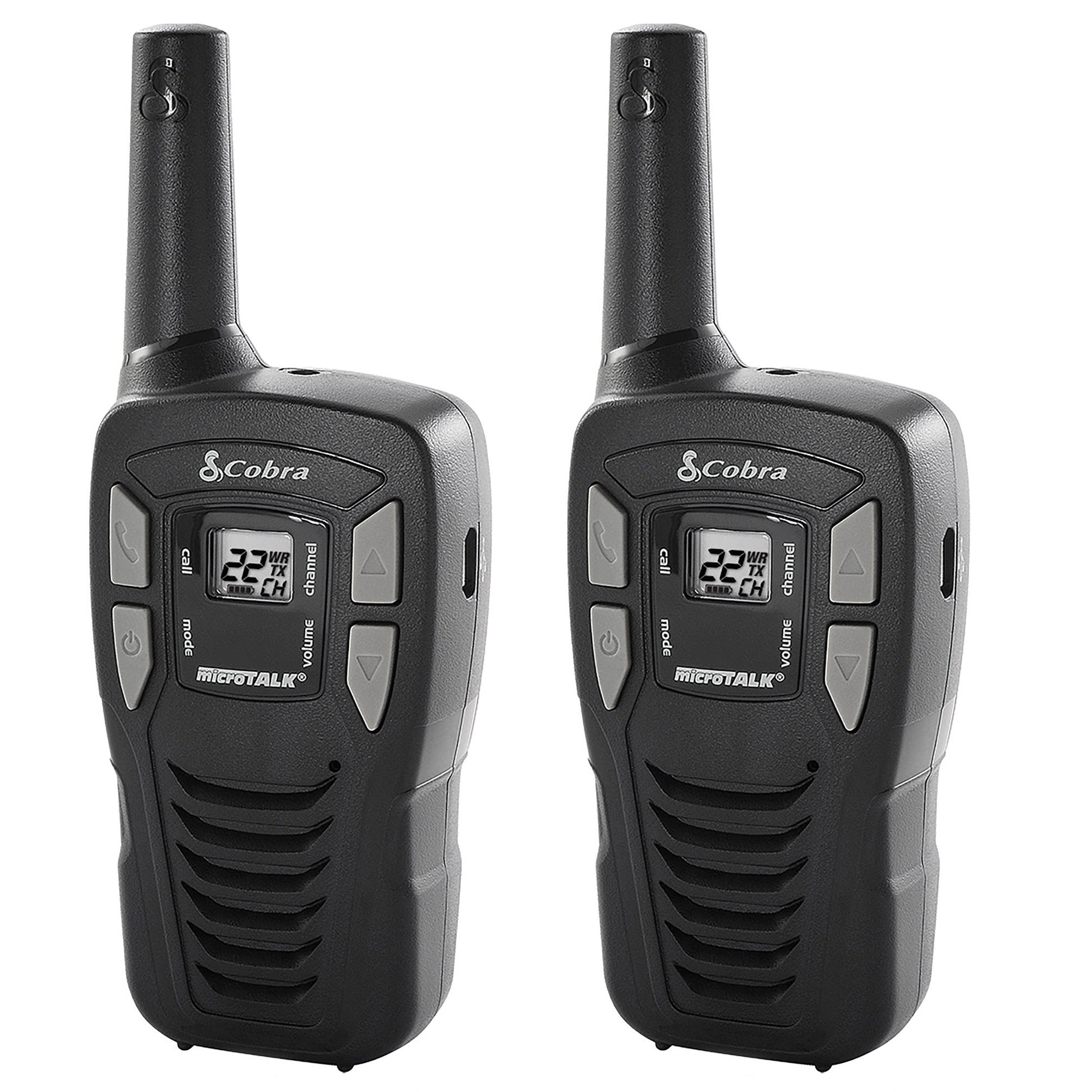 Cobra Cxt195 16-Mile 2-Way Radios Walkie Talkies, 2-Pack by Cobra