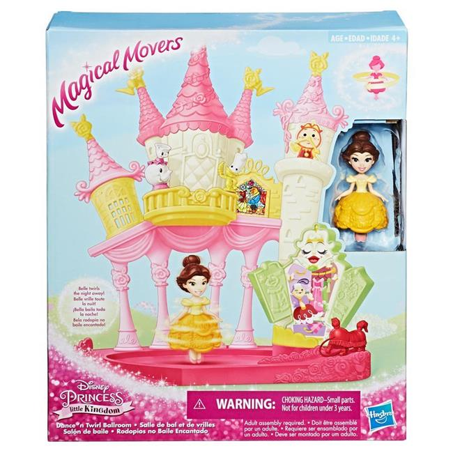 Hasbro HSBE1632 Disney Princess Magic Mover Dance-N-Twirl Ballrm Toys - 3 Count