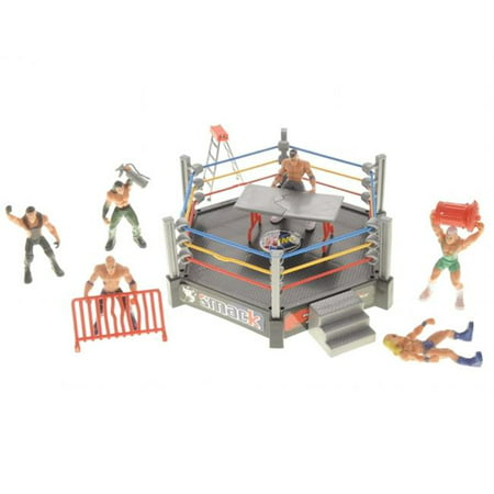 Az Trading   Import Ps37d Wrestling Toy Figure With Ring Playset