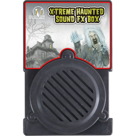 Extreme Haunted Sound Box Halloween Decoration - Black Cat Blow Up Halloween Decoration