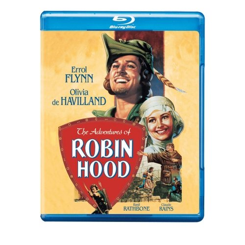 The Adventures Of Robin Hood (Blu-ray) (Full Frame)