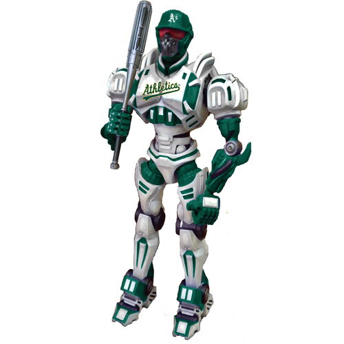 "Foam Fanatics MLB 10"" Team Cleatus Robot - Oakland"