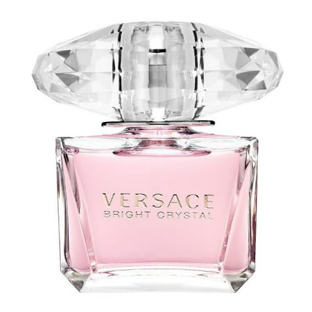 Versace Bright Crystal Eau De Toilette Spray Perfume for Women, 3.3 Oz