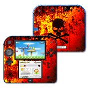 Skin Decal Wrap for Nintendo 2DS Bio Skull