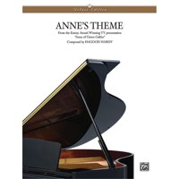 Alfred 00-PC0236 Anne s Theme - Music Book