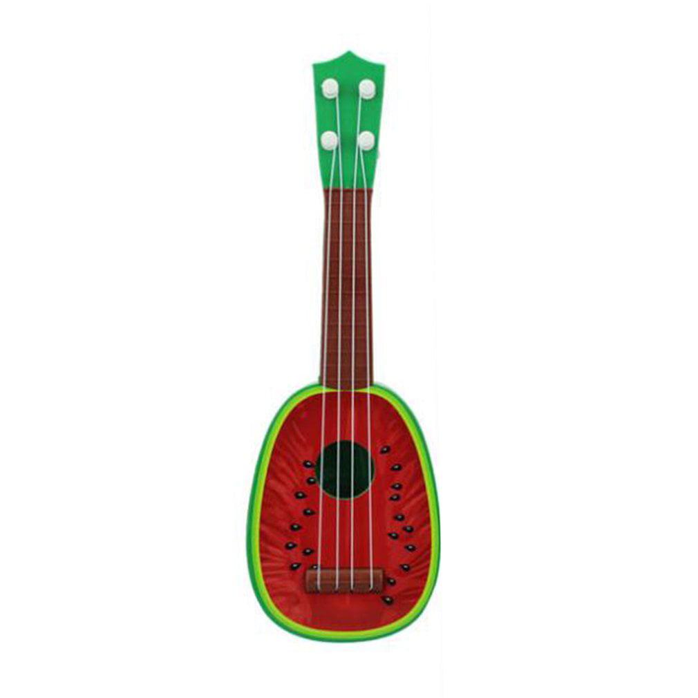 32cm 4 String Children Kids Mini Portable Fruit Guitar Ukulele Educational Musical... by