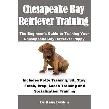 Chesapeake Bay Retriever Training : The Beginner's Guide to Training Your Chesapeake Bay Retriever Puppy: Includes Potty Training, Sit, Stay, Fetch, Drop, Leash Training and Socialization Training Chesapeake Bay Retriever Puppies