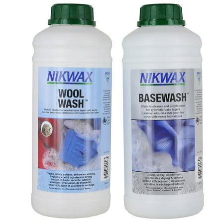Nikwax Tech Wash - Nikwax Base Wash/ Wool Wash N/A Unisex Wash